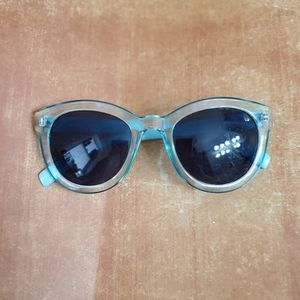 Womens Blue Rim Sunglasses by A.J. Morgan  53701